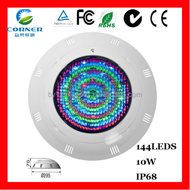 Hot sale!high quality 10w 900lm IP68 led pool table light made in CHINA