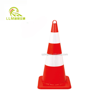 Flexible PVC Plastic Road Safety trafic Cone