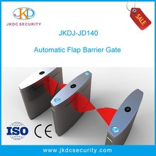 Subway Flap Barrier Gate For City Subway Accessing Control Flap Turnstile With Rfid Card Reader