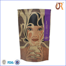 High Quality Aluminum Foil Side Gusset Coffee Bag/kraft Paper Coffee Bag With Valve for customer