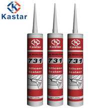 Architectural applications acetoxy silicone sealant