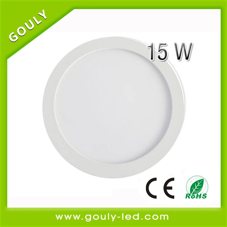 CE ROHS very thin led round small panel light