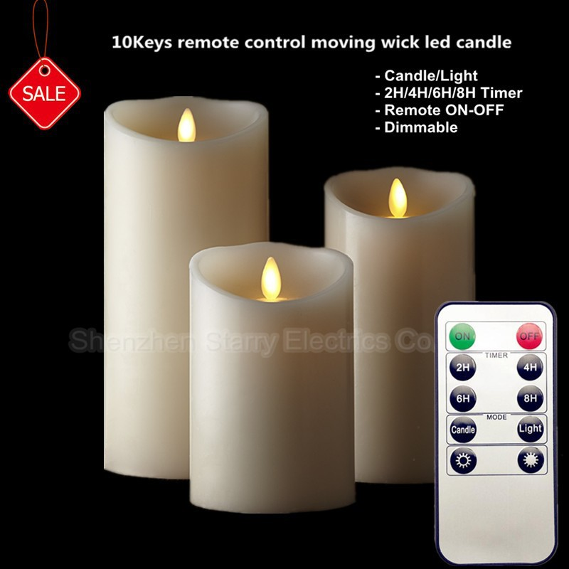 hot selling artificial flame candles