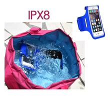 wholesale low price sports armband for blackberry waterproof armband phone bag IPX8 diving