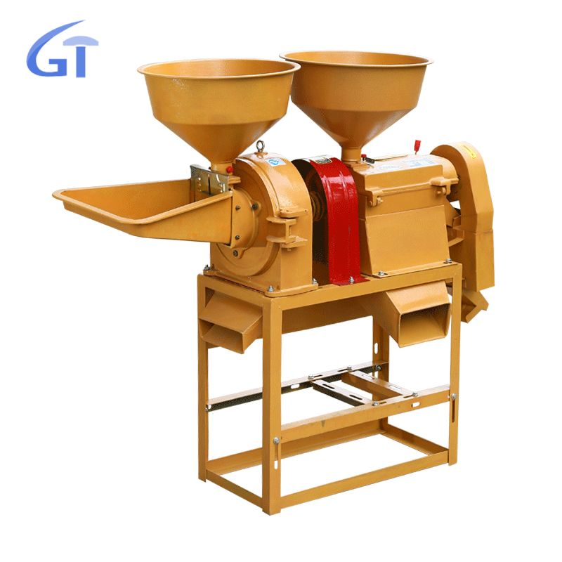 Fully Automatic Combined Mini Rice Mill Machine