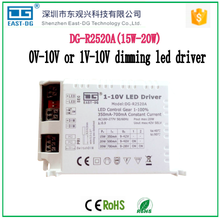 R2520A 0-10v /1-10v dimming led driver 15w20w constant current led dimmable driver 20w 12v PWM switching power suppply 700ma