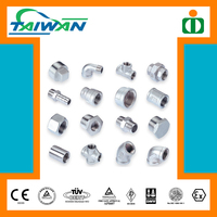 Taiwan high quality astm a105 pipe fitting threadolet, shower fitting, four way tee pipe fitting