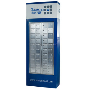 stainless steel mailbox/commercial cluster mailbox/ combination lock mailbox for sale