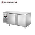 R160 1.2m 2 Doors Fancooling/Static Cooling Refrigerator/Freezer Undercounter