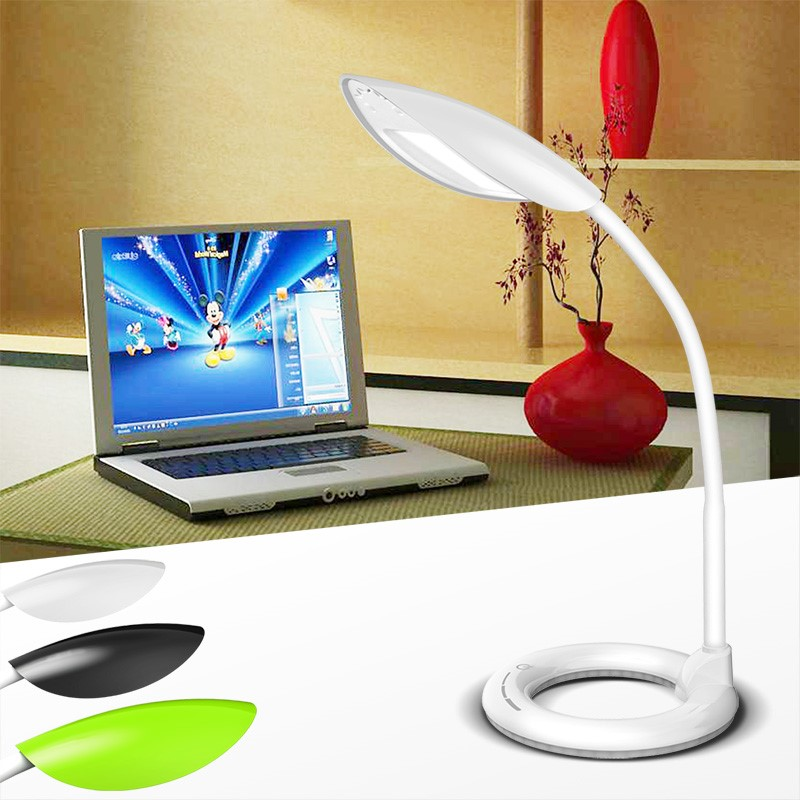 6 W 3 Steps dimming Flexible LED night light Kids Children table desk lamp
