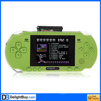 PXP3-380 (8Bit) Vedio Game Player 2.7 inch LCD Screen Game Console Build-in 888888 Games green