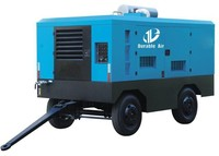 portable screw air compressor For China water well drilling rig