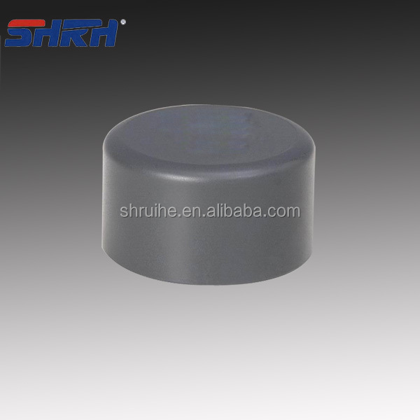 PVC FITTINGS/PVC pipe fitting plastic end caps for pvc pipe