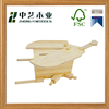 OEM&ODM handmade wooden animal shape wooden saving pot wooden toys for children