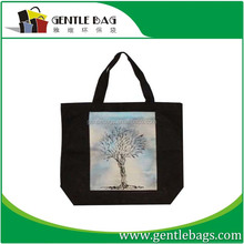 Fashionable foldable huge container eco-friendly cotton shopping bag