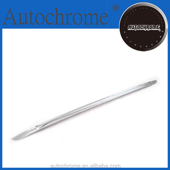 China wholesale car accessory chrome rear lower trunk streamer trim for BMW X5 F15 2014 Up