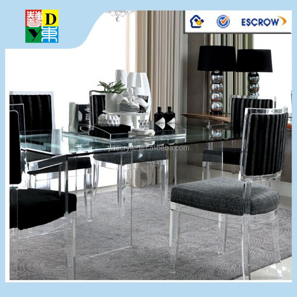 Acrylique table d 39 ordinateur transparent acrylique for Mobilier bureau qualite