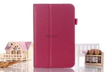 7 Inch Tablet PC PU Leather Case Book Cover Stand for Lenovo A7- 30 A3300 / A3000 / A3500 /A5500 / S6000 / S5000/ B8000 /S8-50