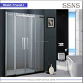 Luxury 8mm safety glass shower door Crystal-I
