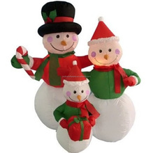 wholesale small inflatable santa claus/snowman new toys inflatable snowman for christmas