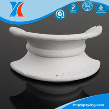 Ceramic Intalox Saddle for Scrubbing Towers in Metallurgy Industry
