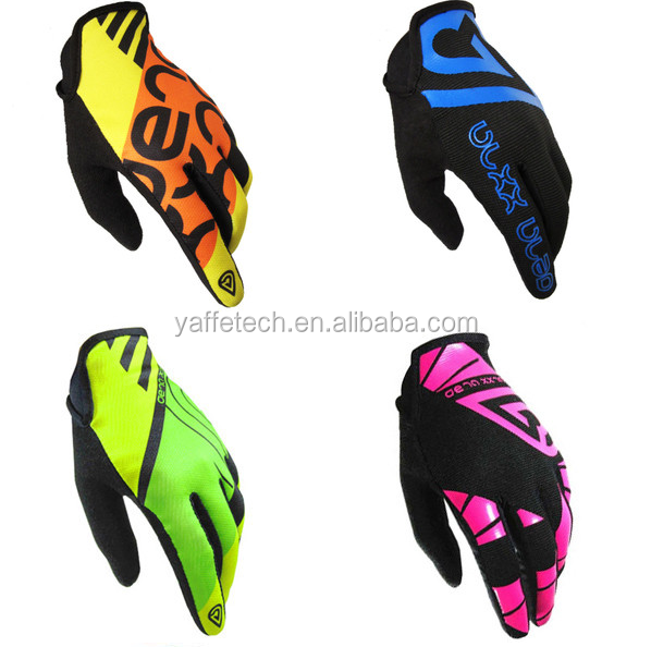 New design Full-finger Sports Racing Glove bike glove motorbike racing gloves