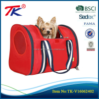 Good quality outdoor spacious interior red dog backpack