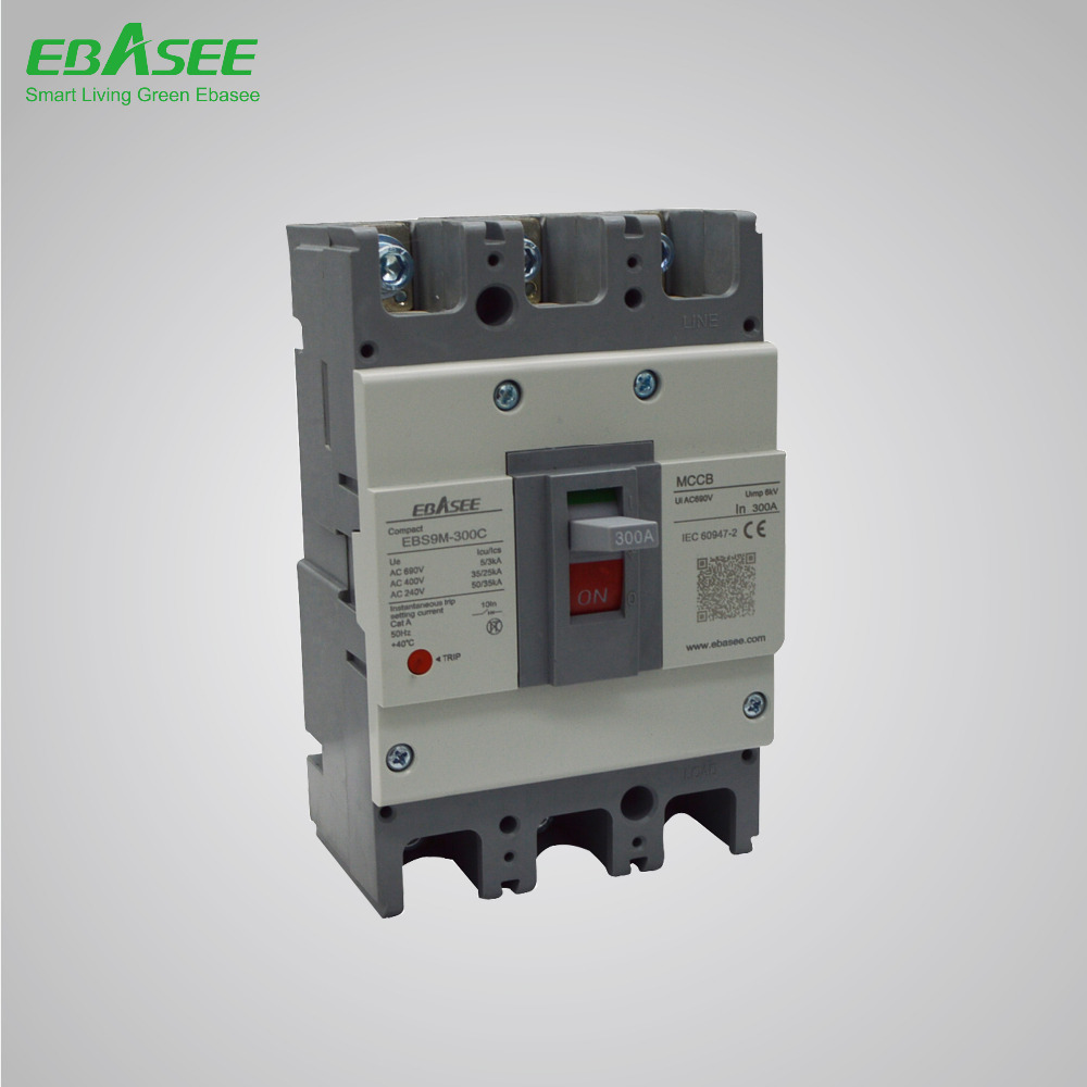 2015 200A 3P MCCB 203c Moulded Case Circuit Breaker