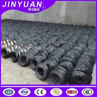 high quality construction binding wire Black annealed wire plastic inside and hessian cloth outside packing