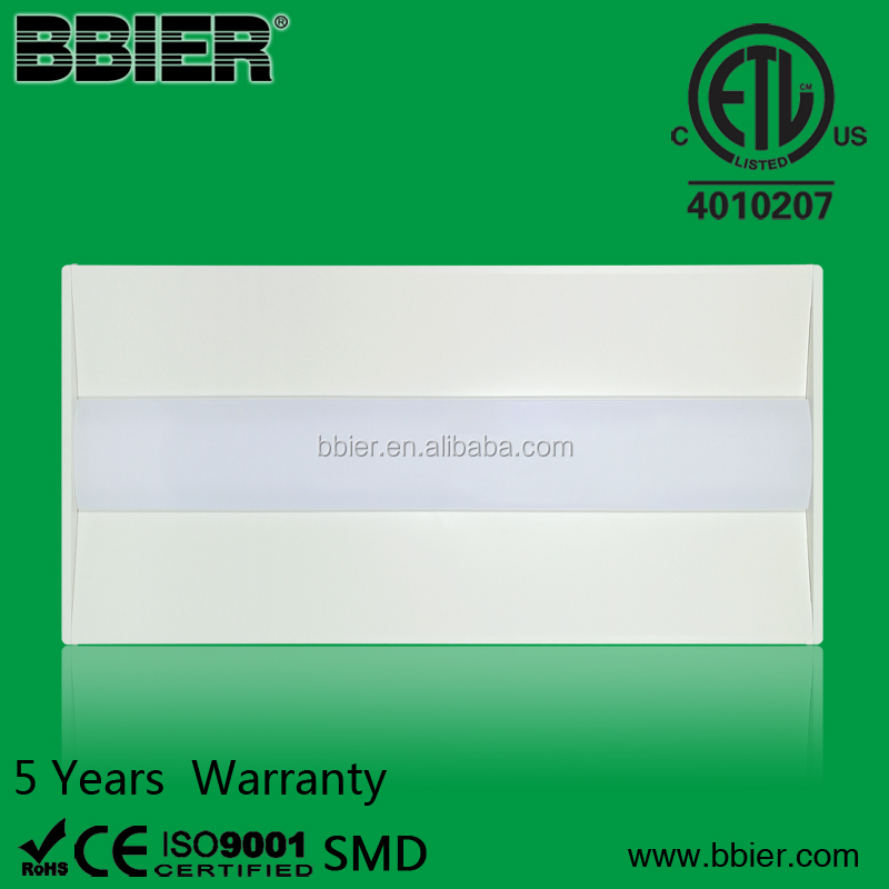 BBier new design 2x4 PIR SENSOR led troffer in led panel lights