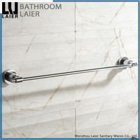 15824 simple design wall mount chrome finishing zinc alloy bathroom accessory
