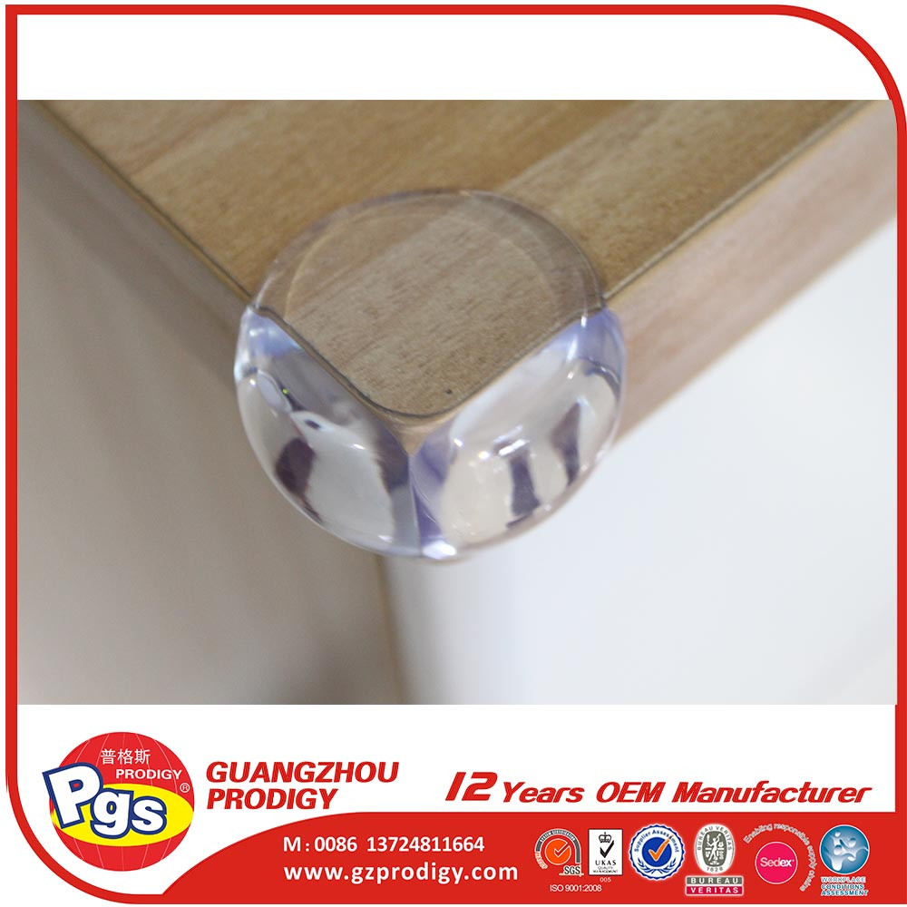 Baby safety product adhesive plastic table edge baby corner guard