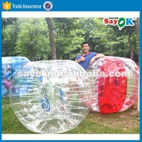 2015 inflatable giant bumperz bubble football bubble ball walk water soccer bubble