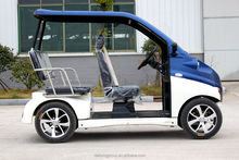 New energy battery powered 3 seats pure mini electric car