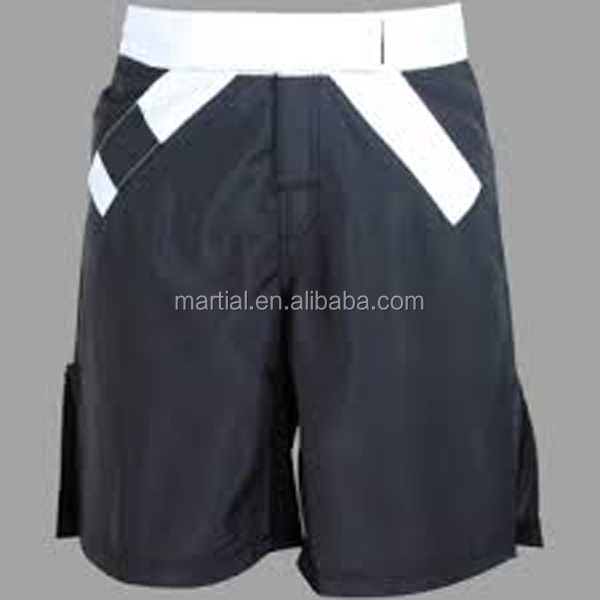 sbulimation printing 4 needles 6 threads bjj mma shorts with belt