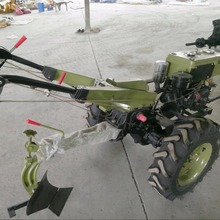 Micro tillage machine dedicated single ploughshare