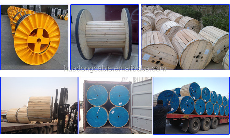XLPE Insulate Underground 3 Conductor Power Cable Heavy Duty