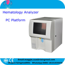 18 months warranty PC Platform Fully Auto Hematology Analyzer blood analyser analysizing machine manufacturer