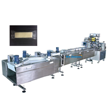 Automatic feeding production line wafer biscuit packing machine