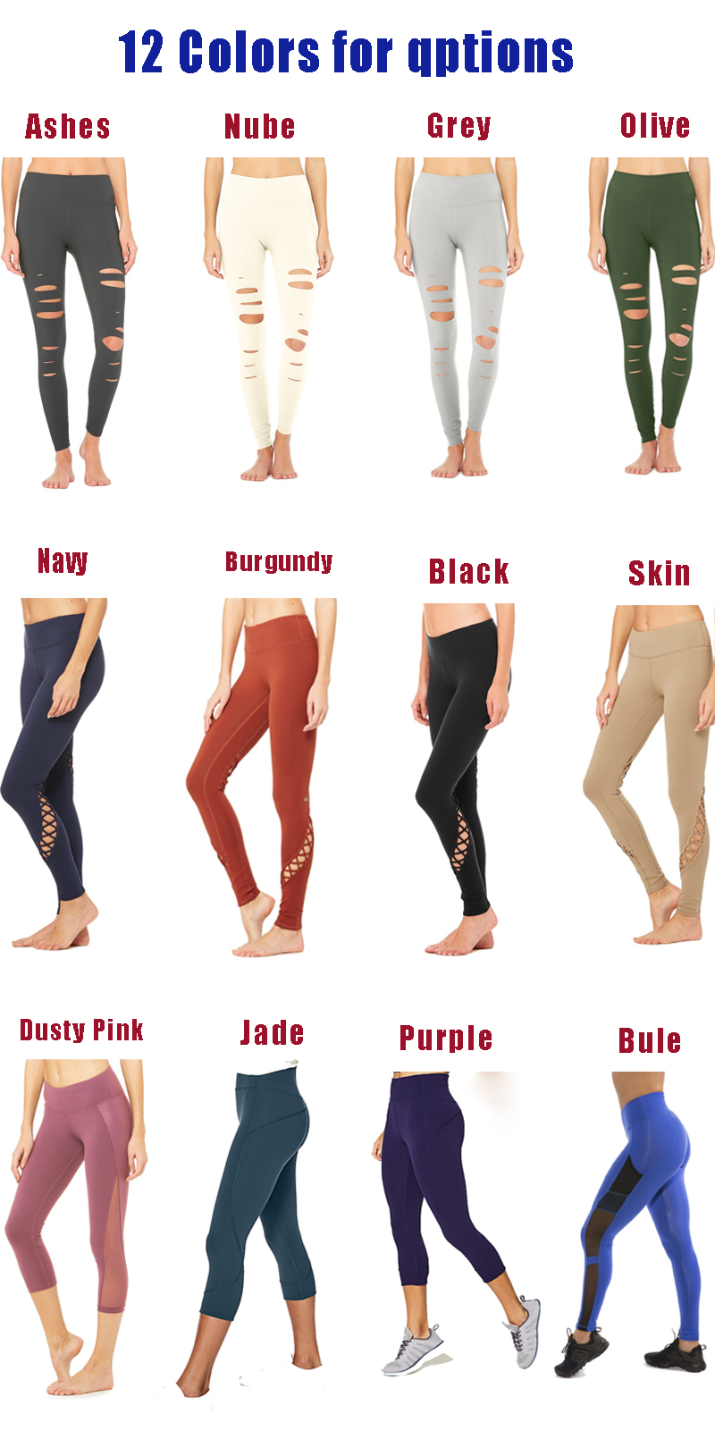 2018 Hot sell fitness clothing custom made yoga pants wholesale yoga capri tights with pocket