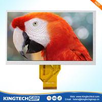 7 inch rear view mirror small hdmi input 7\ tft lcd car sun visor tv monitor