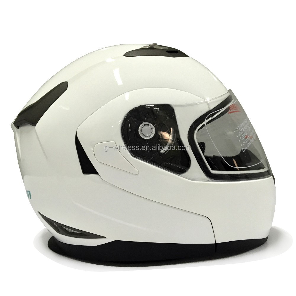 DOT ECE Motorcycle Bluetooth Intercom Helmet With Visor Cycling Helmet Bluetooth