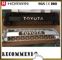 HORWIN Chrome Auto Front Grille For 2007 2008 2009 Toyota Tundra Pick-up Parts