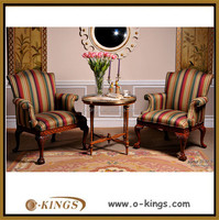 Royal classic living room furniture , coffee table and chair design