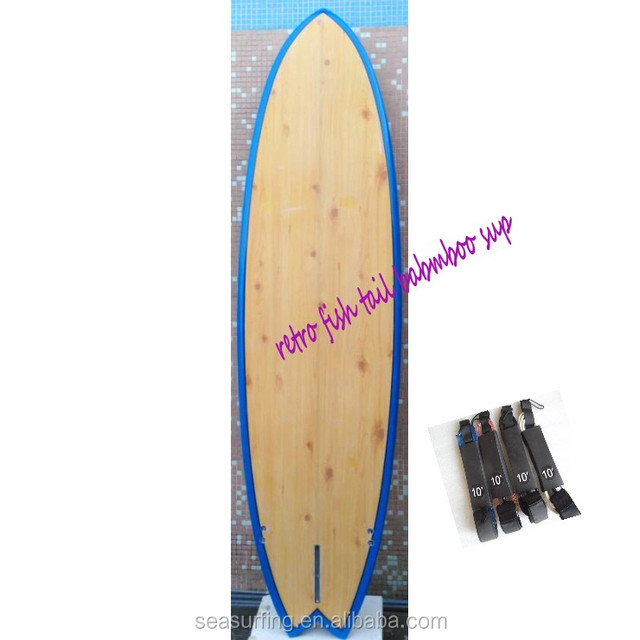 new season surfboards bank retro fish tail bamboo sup cheap paddle boards surfing~!