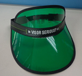 Hot sell Custom Exterior Plastic pvc Sun Visor With Free Random Sample