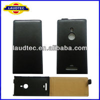 Ultra Slim Flip Case for Nokia Lumia 925,Flip leather case cover for Nokia Lumia 925---Laudtec