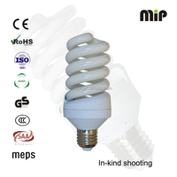 high quality full spiral 25W E27 6500K energy saver bulbs