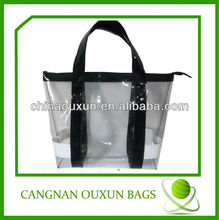 Wholesale transparent pvc tote bag