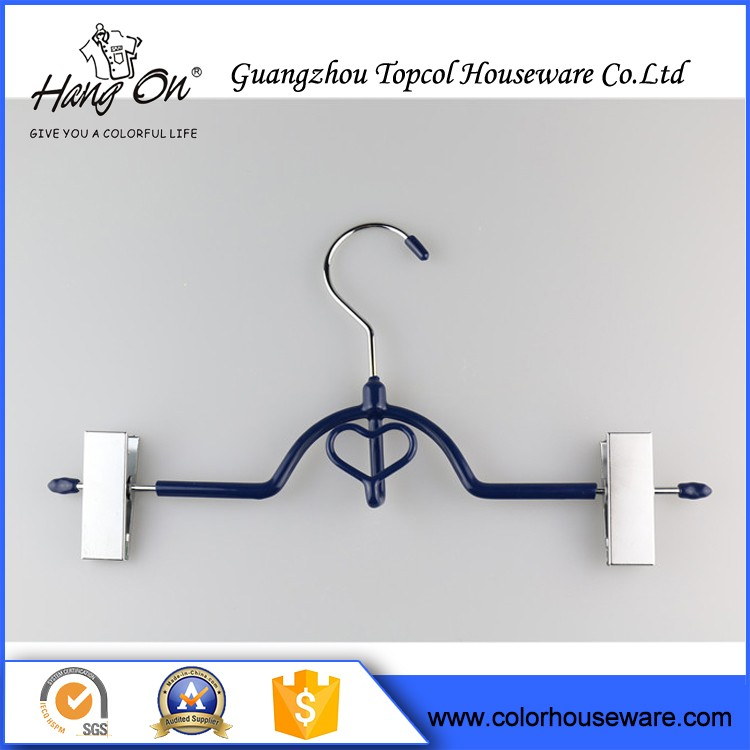 Clothes Plastic Coated Wire Hangers , Little Aluminium Wire Hangers